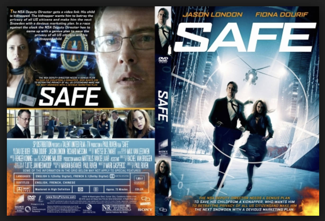 Safe DVD Cover